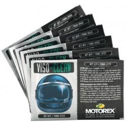 Motorex VISIO CLEAN SACHET DE 6 Nettoyant et entretien du casque