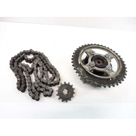 kit chaine honda cbr 125 2006 moto et loisirs. Black Bedroom Furniture Sets. Home Design Ideas