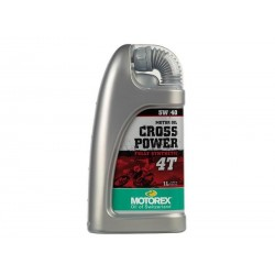 Huile Motorex Cross Power 4T 5W40