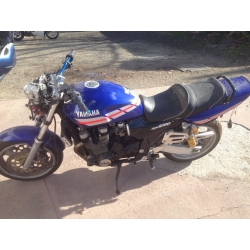 YAMAHA XJR 1200 ACCIDENTEE