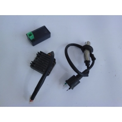 LOT DE PIECES ELECTRIQUE - REVATTO JOYSTICK 50